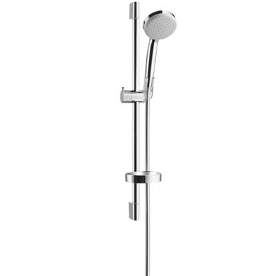 hansgrohe ecosmart croma 100 1jet hand shower unica c set 27742000. Black Bedroom Furniture Sets. Home Design Ideas
